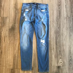 {{Hollister}} W29L30 skinning advance jeans